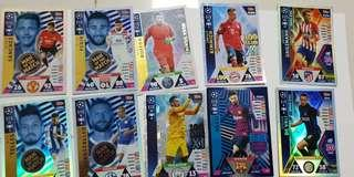 🚚 Match Attax champions league 18/19