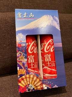 富士山 可口可樂 Coca Cola 日版