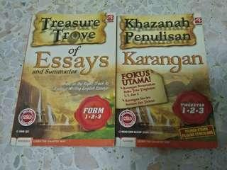 [FREE POSTAGE] PT3 Essays and Karangan Books