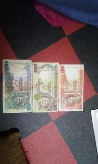 Duit lama (old notes)
