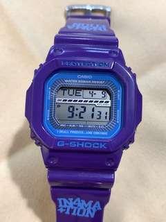 中古 二手 G-Shock x In4mation GLIDE limited edition GLS-5600X-6 GLS5600 Purple
