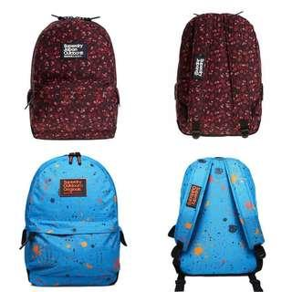 全新 Superdry 背包 backpack 現袋