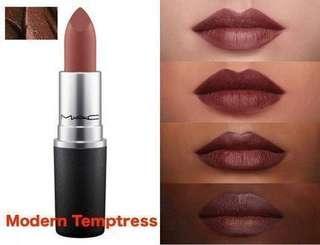 Modern temptress mac lipstick