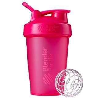 🇺🇸Blender Bottle Classic with loop shaker bottle 20 oz Pink美國熱銷Blender Bottle Classic多功能運動水壺 乳清蛋白搖搖杯 粉紅 591ml