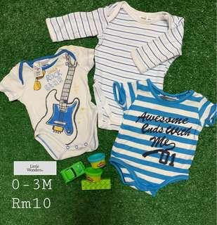 Rock Star Baby Rompers