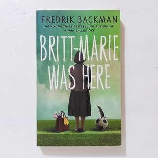 Britt-Marie Was Here by Fredrick Backman