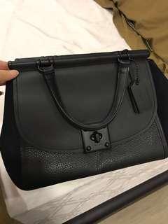 🚚 Coach drifter black handbag