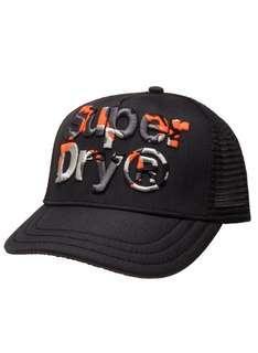 🚚 Superdry cap - Black / orange