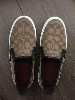 BNIB Coach Chrissy Slip On Sneakers