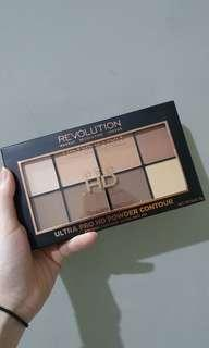 MAKEUP REVOLUTION Ultra Pro HD Powder Contour - Light Medium