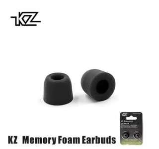 🚚 Original KZ Memory Foam tips In-Ear 🎵E.Audio🎵 KZ ZS3/ KZ ZST / KZ ES4 / KZ ZS10 / KZ ZSN / KZ HD9 / VE MONK PLUS / MONK LITE