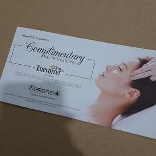 Serene aeathetics Ageless Tranquility Retreat Complinentary Facial Treatment worth RM220