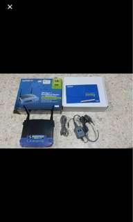 🚚 Linksys Wireless G broadband router