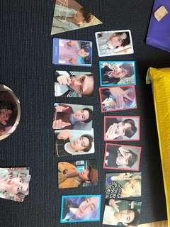 Got7 official photocards / pcs
