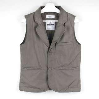 【GGM】防水機能工裝戰術背心 WISDOM DOWN VEST 經典西裝領鋪棉雙口袋無袖罩衫