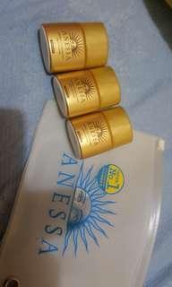 🚚 安耐曬 金鑽高效防曬乳 12ml