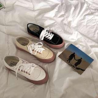 PO: gumsole shoes