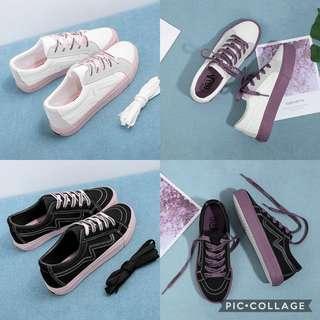 PO: coloured soles shoe