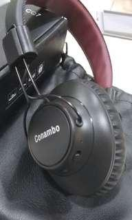 🚚 A068: Conambo noise cancelling bluetooth headset