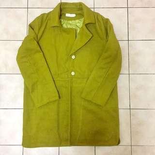 Winter/ Spring Green Jacket 🧥