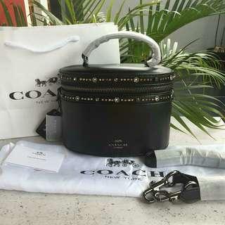 Coach Trail Bag x Selena With Black Stude