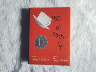 HARDBOUND Why We Broke Up by Daniel Handler