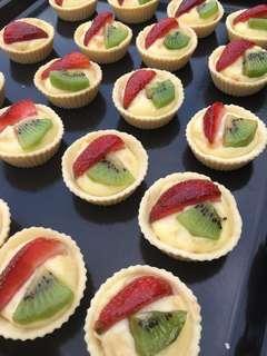 Fruit Tarts (for 20pcs)
