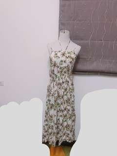 🚚 椰子樹🌴細肩繞頸洋裝