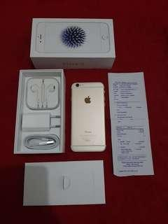 Iphone 6 Gold 32GB iBox Garansi Panjang