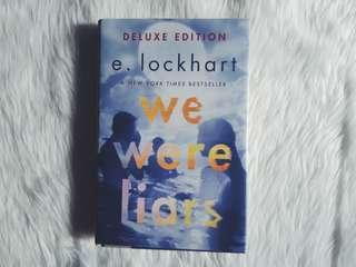 Deluxe Hardbound We Were Liars by E. Lockhart