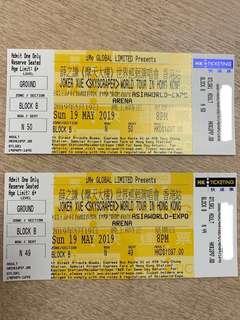 5月19日 薛之謙《摩天大樓》世界巡迴演唱會 香港站