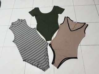 3 For $18=All brand new Bodysuit.(may consider n switch with the same price if you don't 1of the item)