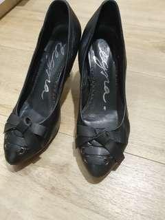 Alegra leather heels