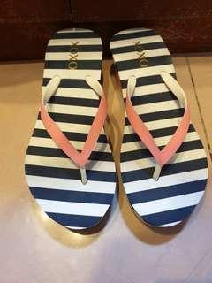 Xoxo Stripes Slippers
