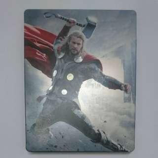 Thor 2 The Dark World 雷神奇俠2 黑暗世界 Blu-ray 藍光 Steelbook 鐵盒 3D+2D 中字