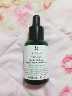 FREE SHIPPING Kiehl's Nightly Refining Micro-Peel Concentrate