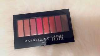 Maybelline Lip palette