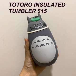 🚚 BRAND NEW Totoro Studio Ghibli insulated tumbler