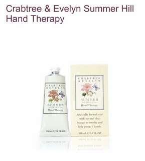 Crabtree & Evelyn Hand Cream (Summer Hill) 100ml
