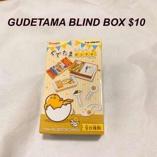 BRAND NEW Gudetama blind box