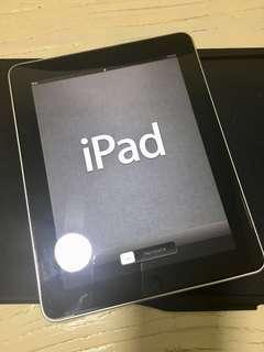 Ipad First Gen in Pristine Condition