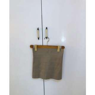 Bandage Skirt (Gold)