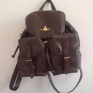 Vivienne Westwood Orb Leather Backpack