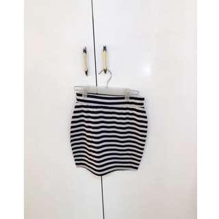 Bandage Skirt (Stripes)