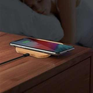 Retro bamboo wireless charger