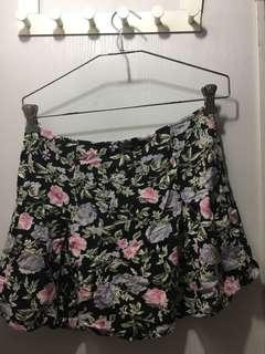 H&M Floral Skirt #snapendgame