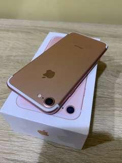 🚚 IPhone 7 128玫瑰金🌹  9成5新 電池壽命85%