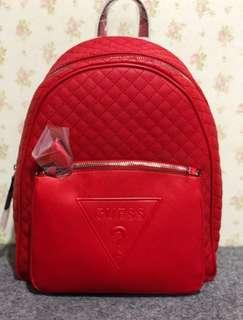 Guess Backpack Baldwind Red