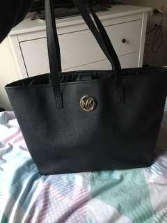 MK black tote bag