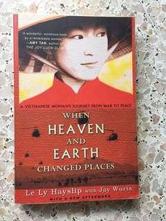 When heaven and earth change places- Le Ly Hayslip